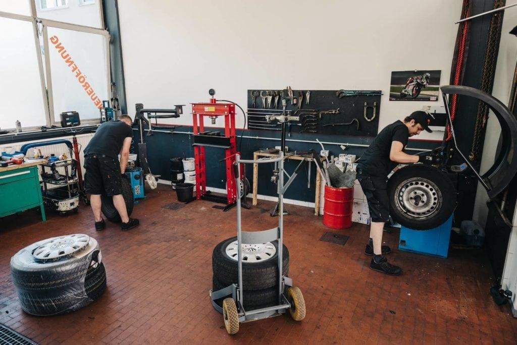 Reifendienst - Reifeneinlagerung